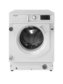 Whirlpool Biwmwg91484 Built-In 9Kg Load, 1400 Spin Washing Machine - White - Washing Machine Only