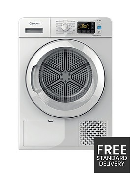 indesit-inf901eaa-8kg-load-heat-pump-tumble-dryer-white