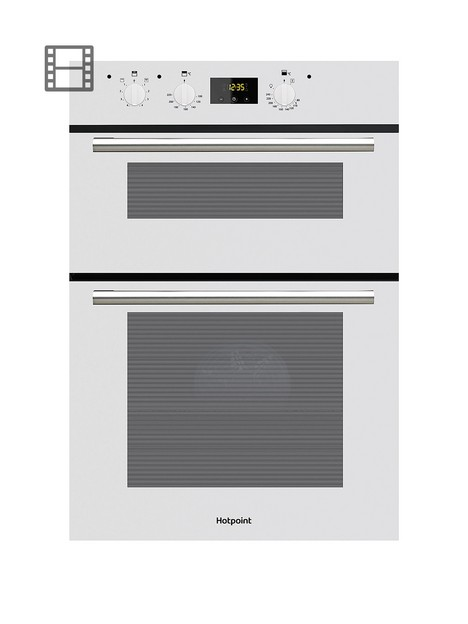 hotpoint-dd2540wh-built-in-60cm-width-electric-double-oven-white