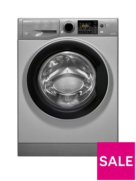 hotpoint-rdg8643gkukn-8kg-wash-6kg-dry-1400-spin-washer-dryer-graphite