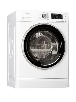 Whirlpool Ffd8448Bsvuk 8Kg Load, 1400 Spin Washing Machine - White