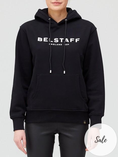 belstaff-logo-hoodienbsp--black