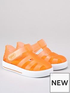 igor-unisexnbspstar-jelly-sandals-orange