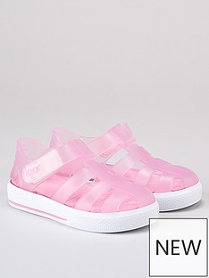 igor-girls-star-jelly-sandals-pink