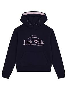 jack-wills-girls-script-hoodie-navy