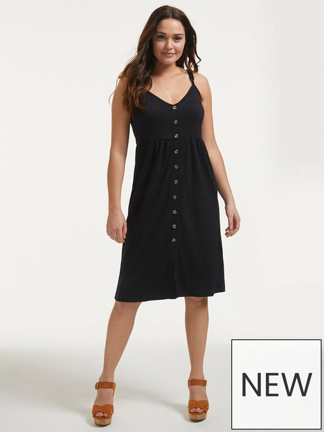 figleaves-jersey-sun-dress-with-pockets-black