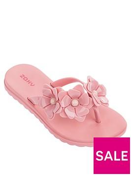 zaxy-kids-fresh-floral-flip-flop-pink