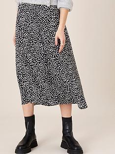monsoon-heart-monochrome-midi-skirt-black