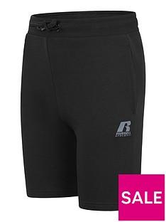 russell-athletic-boys-r-logo-jog-shorts-black
