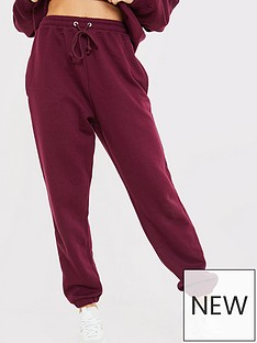 in-the-style-in-the-style-x-naomi-genesnbsprelaxed-boyfriend-fit-joggers-wine