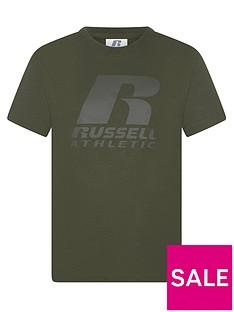 russell-athletic-boys-r-logo-t-shirt-army-green
