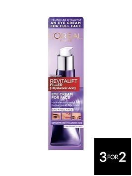 loreal-paris-loreal-paris-revitalift-filler-eye-cream-face-cream-hyaluronic-acid-eye-cream-for-face-30ml
