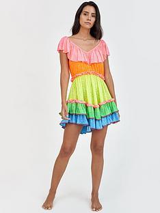 pitusa-rainbow-ruffle-mini-dress-multi