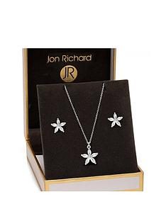 jon-richard-jon-richard-flower-earrings-pendant-set