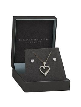 simply-silver-simply-silver-sterling-silver-925-cubic-zirconia-set