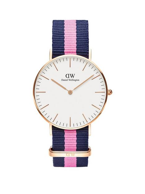 daniel-wellington-daniel-wellington-winchester-white-and-rose-gold-detail-36mm-dial-blue-and-pink-stripe-nato-strap-watch