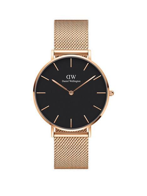 daniel-wellington-daniel-wellington-melrose-black-36mm-dial-rose-gold-stainless-steel-mesh-strap-watch