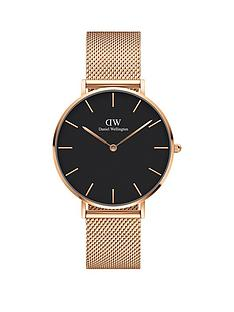 daniel-wellington-daniel-wellington-melrose-black-36mm-dial-rose-gold-stainless-steel-mesh-strap-watch