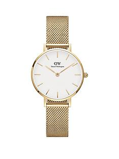 daniel-wellington-daniel-wellington-evergold-white-28mm-dial-gold-stainless-steel-mesh-strap-watch
