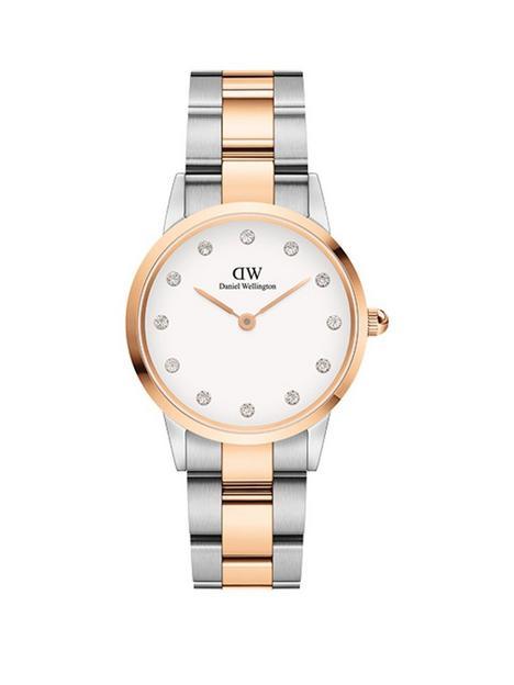 daniel-wellington-daniel-wellington-iconic-lumine-white-and-rose-gold-detail-swarovski-set-28mm-dial-two-tone-stainless-steel-bracelet