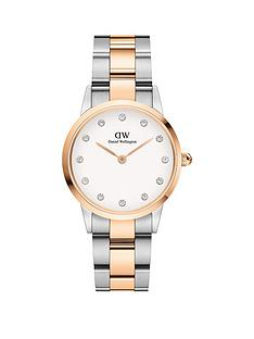 daniel-wellington-daniel-wellington-iconic-lumine-white-and-rose-gold-detail-swarovski-set-28mm-dial-two-tone-stainless-steel-bracelet