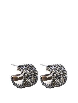 mood-mood-rose-gold-plated-jet-crystal-wide-pave-hoop-earring