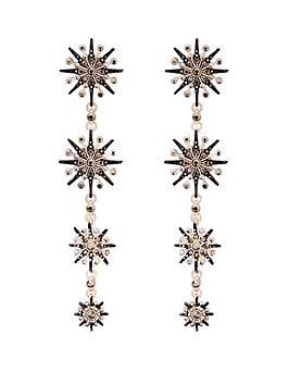 mood-rose-gold-plated-jet-crystal-starburst-linear-drop-earrings