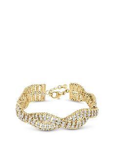 mood-gold-plated-crystal-plait-bracelet