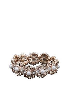 mood-mood-rose-gold-plated-crystaland-cream-pearl-flower-stretch-bracelet