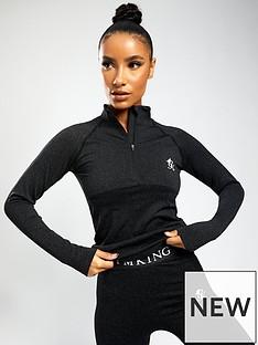 gym-king-sport-energy-14-zip-top-black-marl