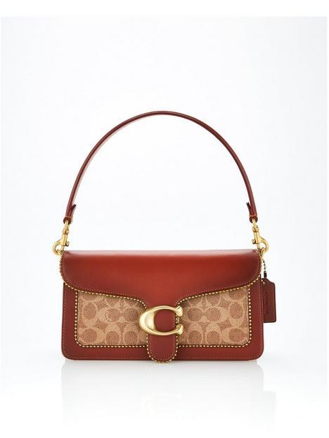 coach-tabby-26-coated-canvas-signature-beadchain-cross-body-bag-tan