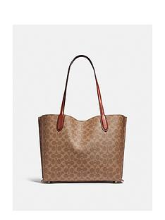 coach-willow-polished-pebble-leather-tote-bag-tan
