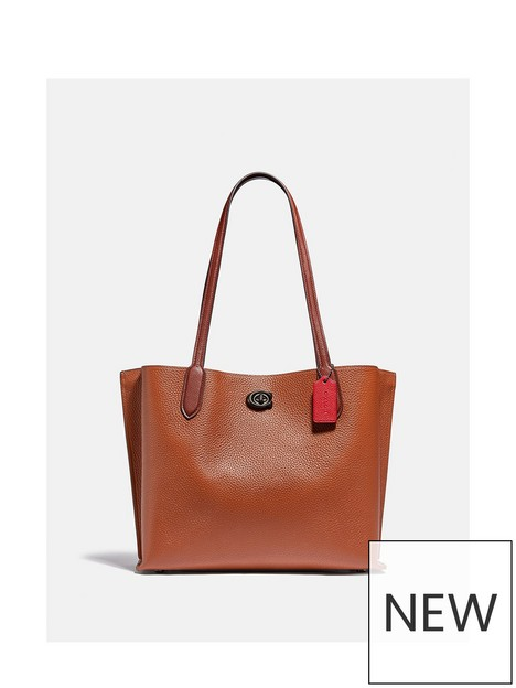 coach-willow-colourblock-leather-and-coated-canvas-lining-tote-bag-saddle