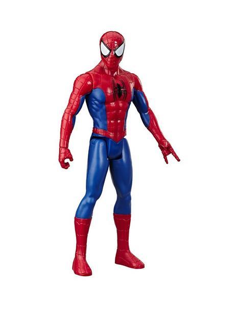marvel-marvel-spider-man-titan-hero-series-spider-man-30-cm-scale-super-hero-action-figure-toy-with-titan-hero-fx-port