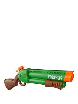 Nerf Nerf Super Soaker Fortnite Pump-Sg Water Blaster � Pump-Action Soakage � For Youth, Teens, Adults