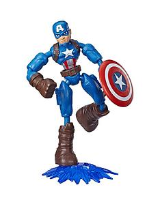 marvel-avengers-bend-and-flex-action-figure-toy-15-cm-flexible-captain-america-figure-includes-blast-accessory-for-children-aged-6-and-up