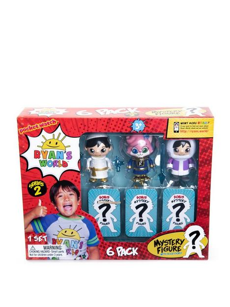 ryans-world-ryans-world-6-pack-collectible-mystery-figure-set-series-2