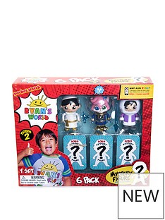 ryans-world-ryans-world-6-pack-collectible-mystery-figure-set-series-2