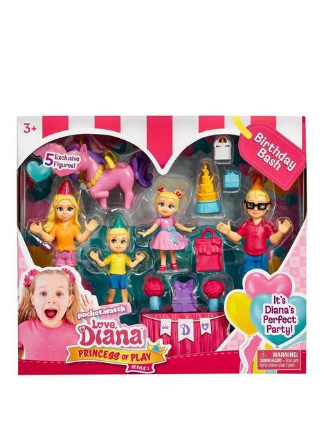 love-diana-love-diana-25-diorama-figure-multipack-birthday