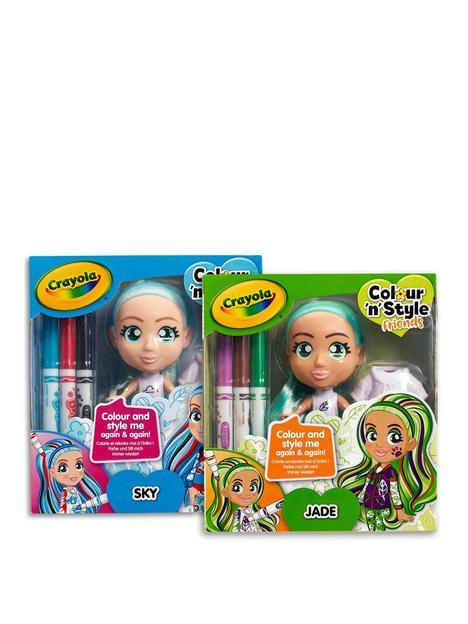 crayola-crayola-colour-n-style-friends-skyejade-2-pack