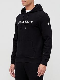 belstaff-1924-logo-overhead-hoodie-black