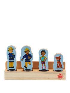 fireman-sam-wooden-four-figure-pack