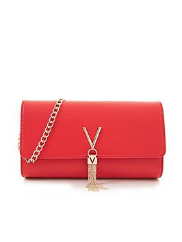 Valentino Bags Divina Crossbody Clutch Bag - Red, Red, Women
