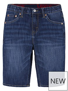 levis-boys-slim-fit-performance-denim-short-dark-wash