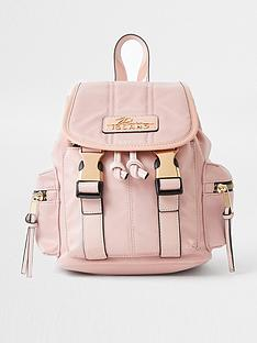river-island-branded-casual-backpack-light-pink