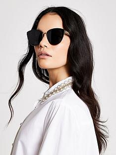 river-island-textured-arm-cateye-sunglasses-black