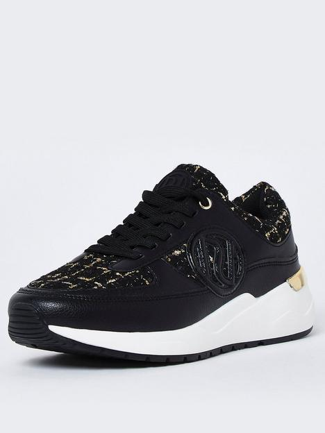 river-island-chunky-boucle-branded-lace-up-trainer-black