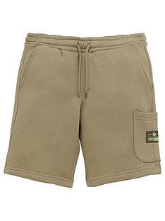 jack-jones-junior-boys-originals-cargo-sweat-shorts-deep-lichen-green