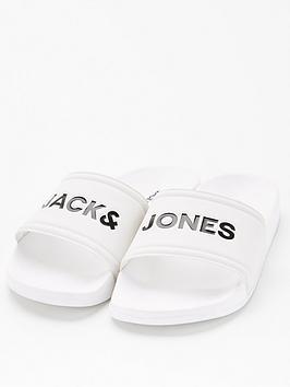 jack-jones-junior-boys-pool-sliders-white