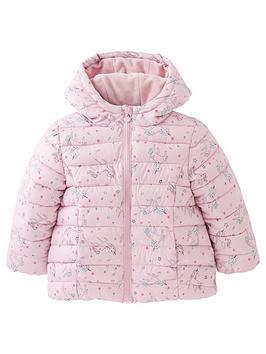 mini-v-by-very-girls-unicorn-print-fullynbspfleece-linednbsppaddednbspcoat-pink